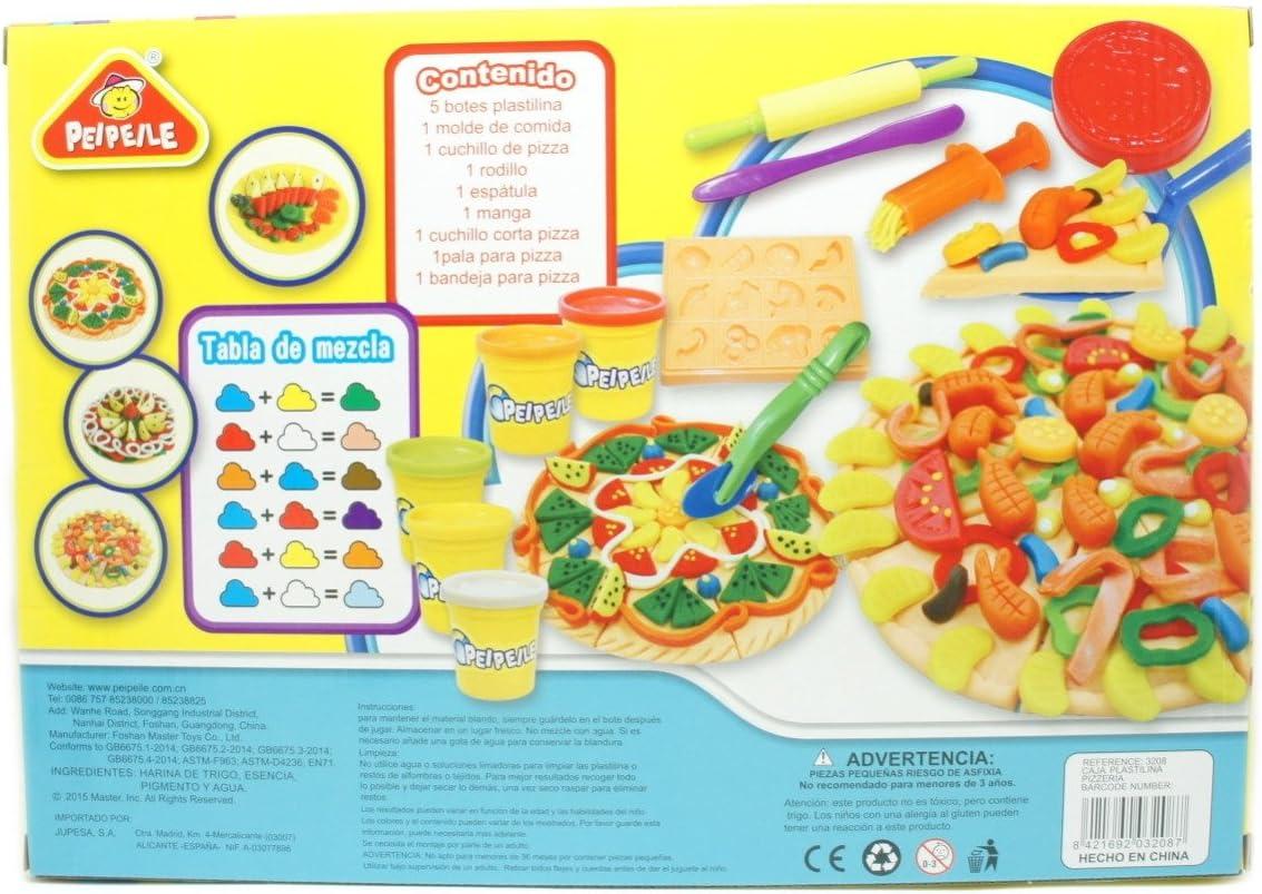 plastelina la pizzeria: Amazon.es: Juguetes y juegos