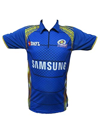 8c8a68a74 Mumbai Indians Ipl Jersey 2018 (Mi t shirts for mens)  Amazon.in ...
