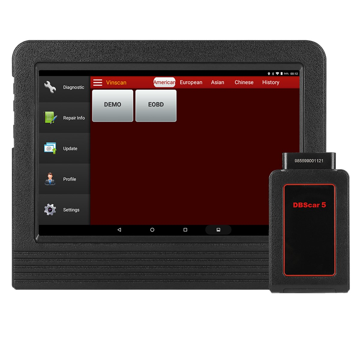 LAUNCH X431 V+ OBDII Full System Car Diagnostic Scanner Android Wifi Bluetooth Connector and Scan Pad and Complete Connect Kits with 2 Years Free Online Update for Repair Shops