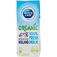 Dutch Lady Organic Fresh UHT Milk (Holland) 200ml (Pack of 3)