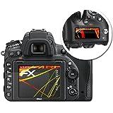 Nikon D750 Film Protection d'écran - Set de 3 atFoliX FX-Antireflex-HD antireflets haute résolution Protecteur d'écran Film Protecteur