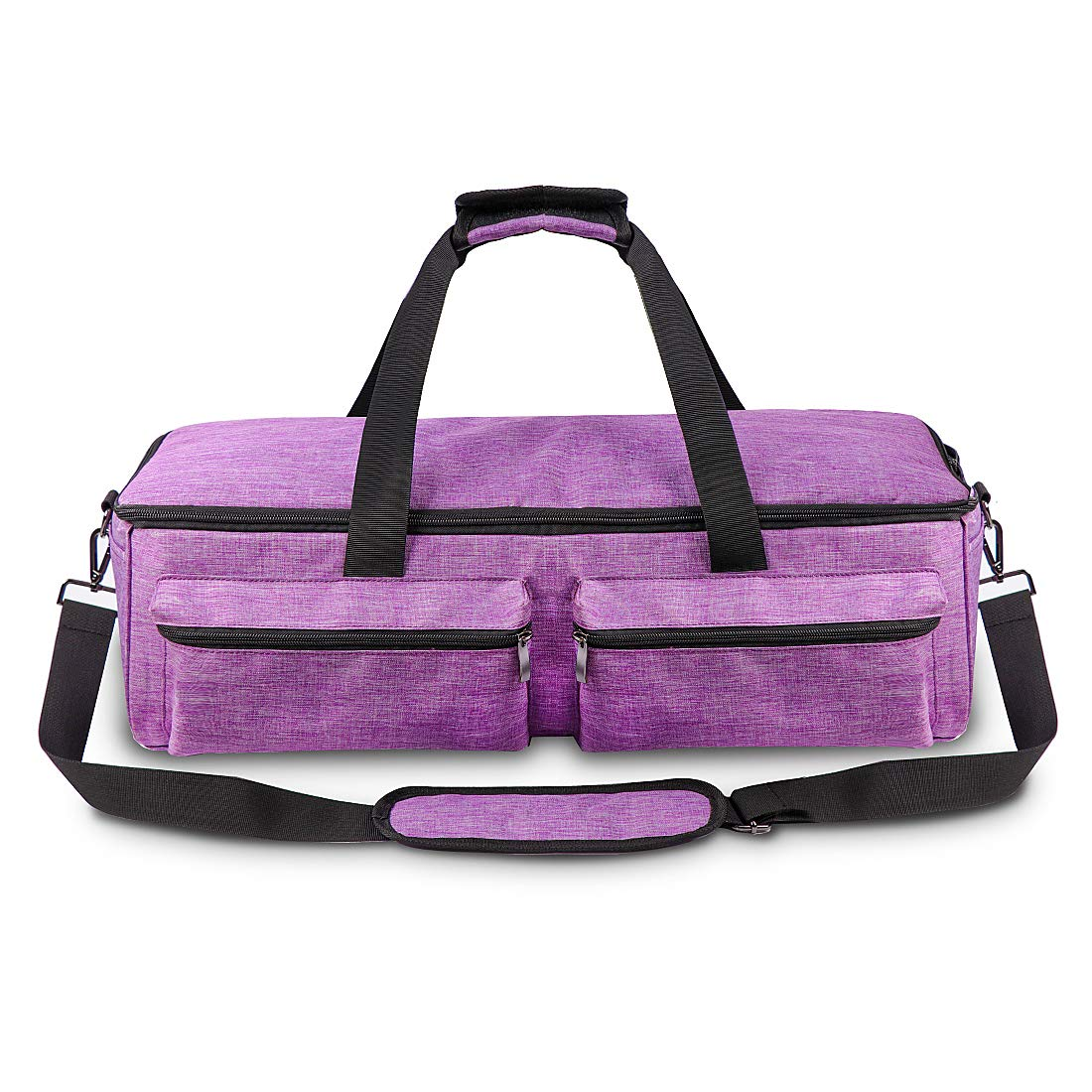 Cricut Explore Air Carrying Bag,Tote Bag Compatible with Cricut Explore Air 2,Cricut Maker,Silhouette and Supplies,No Accessories Included Purple