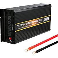 VETOMILE 3000W Power Inverter 12V DC to 110V AC Peak 6000W Converter