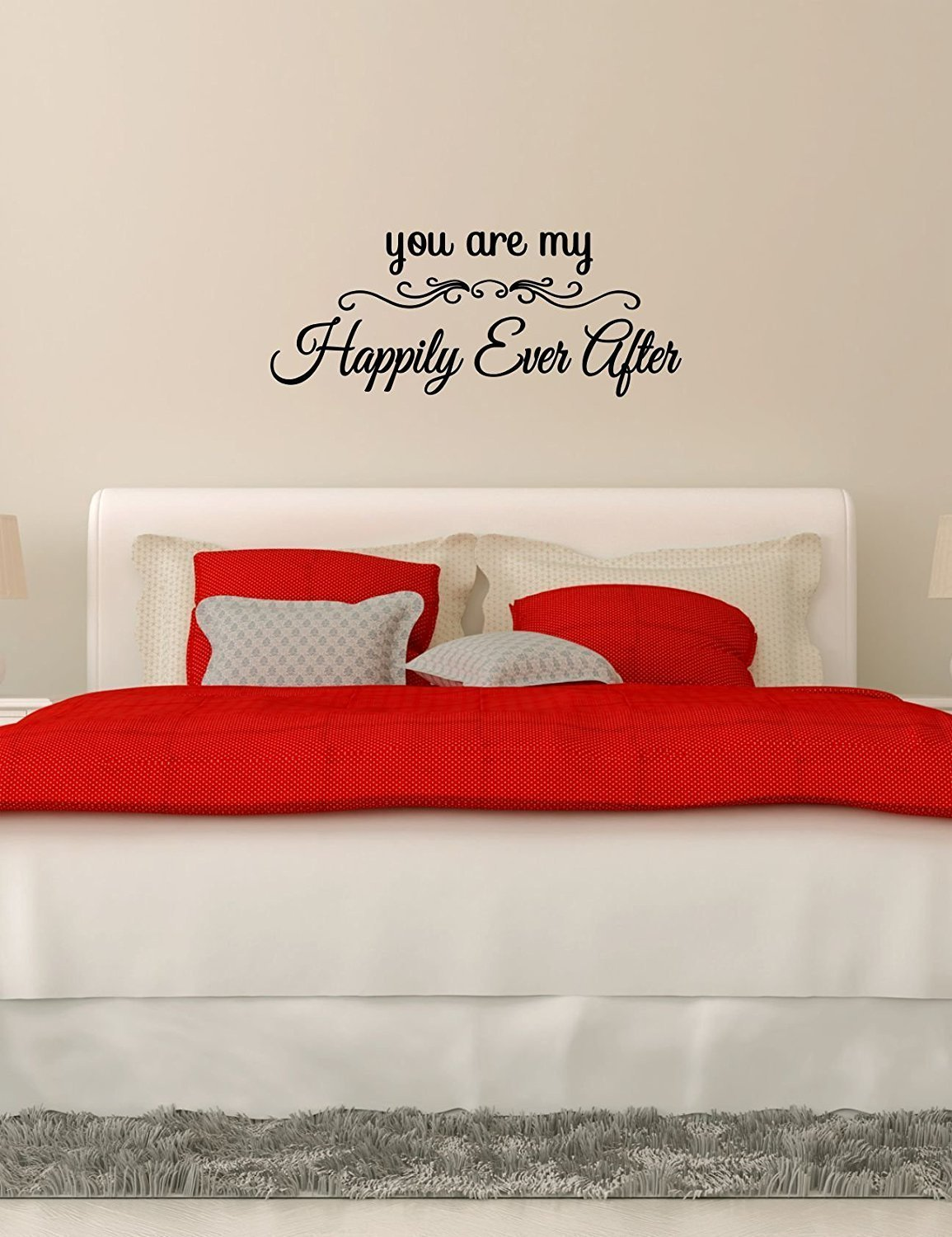 You Are My Happily Ever After vinyl wall decal best Christmas gift husband