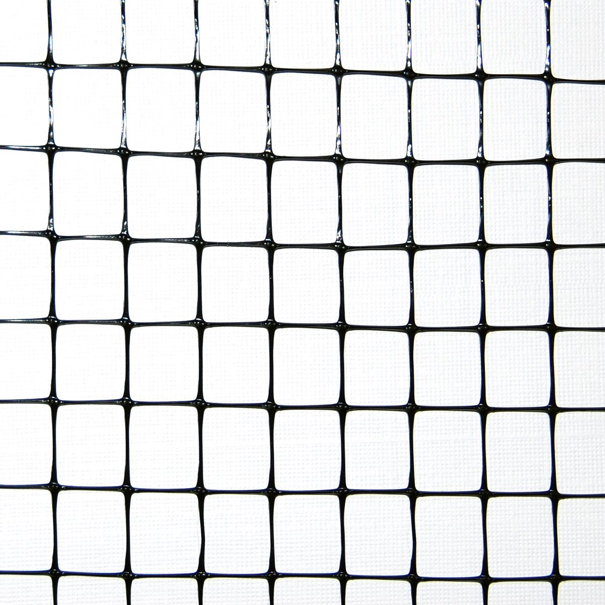 Industrial Netting OV1581-168x100 Heavy Duty Polypropylene Bird Garden Net, 1/2'' Mesh, 100' Length x 14' Width, Black by Industrial Netting