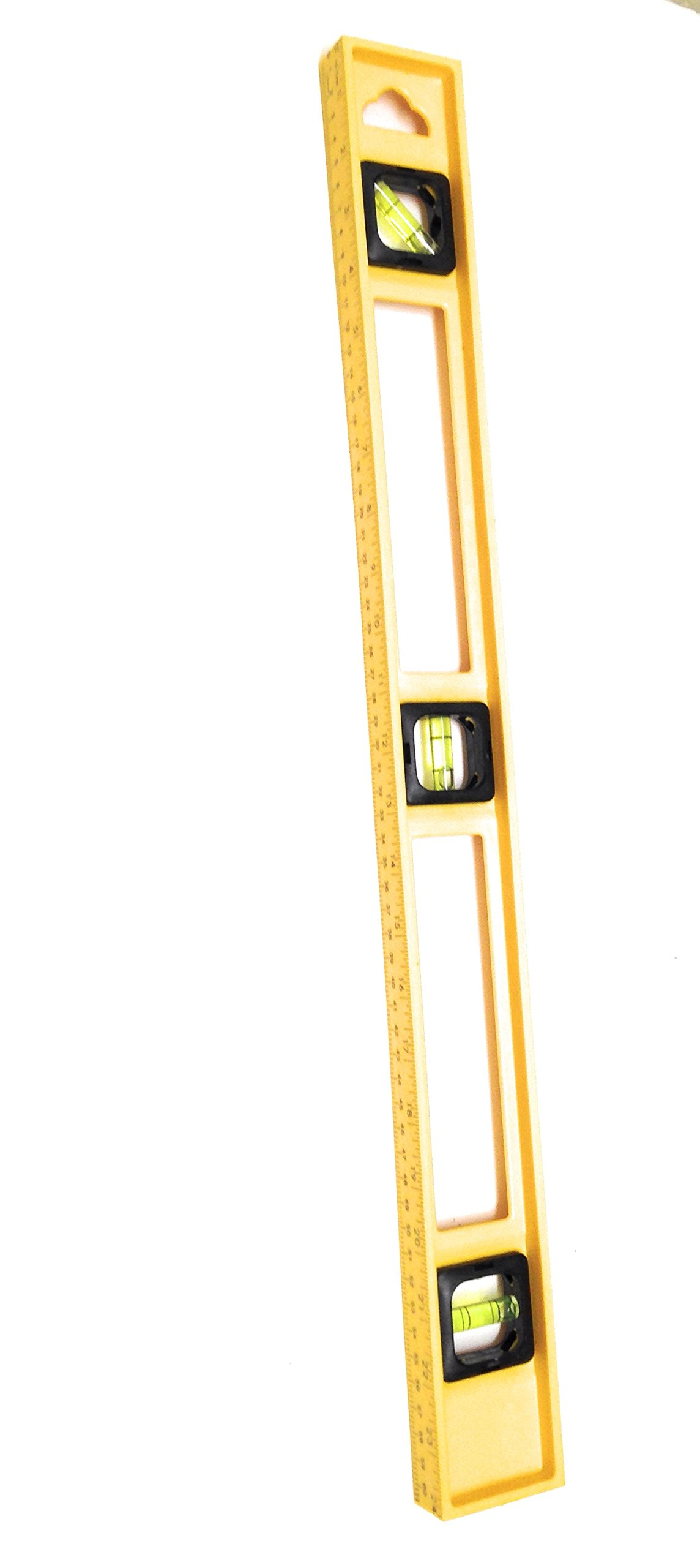 24 Inch and 6 Inch 3 Bubble Torpedo Level Pack Home or Jobsite Approved by Straight and Narrow (Image #1)