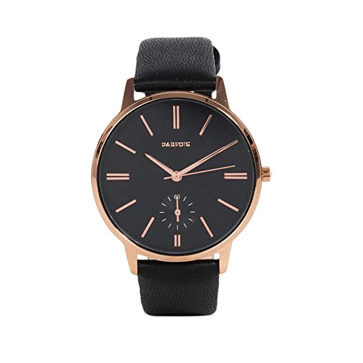 Parfois - Reloj Rose Gold - Mujeres - Tallas Única - Negro: Amazon.es: Relojes