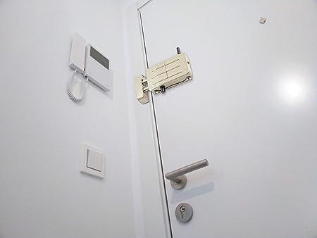 Arregui CI10P Cerradura de Seguridad Invisible para Puerta con 4 mandos, Plata: Amazon.es: Bricolaje y herramientas