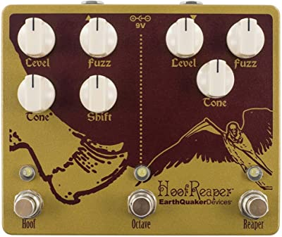 EarthQuaker Devices Hoof Reaper V2 Double Fuzz With Octave Up Pedal