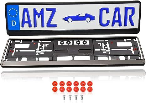 Für Toyota 2x PKW Universal Euro Nummernschildhalter Kennzeichen Halter Träger