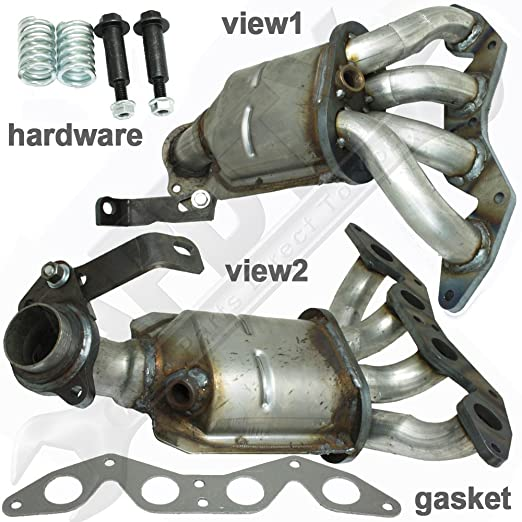 Amazon.com: APDTY 18160 PLM A00 Exhaust Manifold And Catalytic Converter  Complete Assembly Fits 2001 2005 Honda Civic 1.7L (Not Legal In California  Or New ...