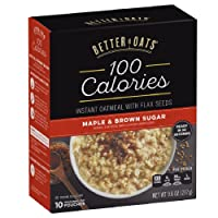 6-Pack Better Oats Maple & Brown Sugar Instant Oatmeal 10 Pouch