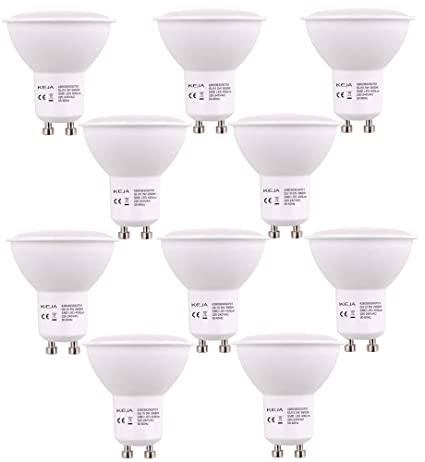 Led Factory - Bombilla led MR16, 5 W, GU10, remplaza bombillas de 50 ...