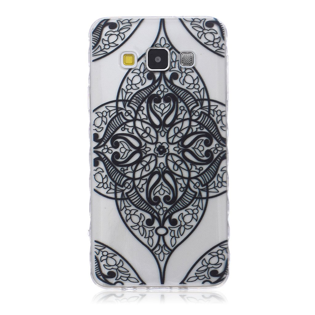 For Galaxy A3 Case,Samsung Galaxy A3 TPU Case, EC-Touch Fashion Style Colorful Painted Design [Ultra Slim][Perfect Fit][Scratch Resistant] Soft Case Back Cover Protector Skin For Samsung Galaxy A3