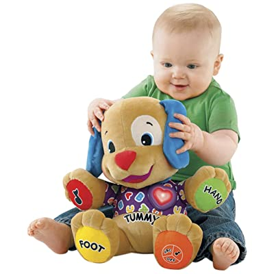 Fisher-Price Laugh & Learn Love to Play Puppy with Bonus CD: Toys & Games
