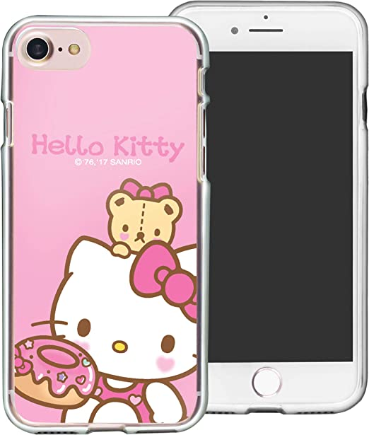 WiLLBee Coque en TPU souple pour iPhone 5S/iPhone 5/iPhone SE (2016) Hello Kitty Rose clair