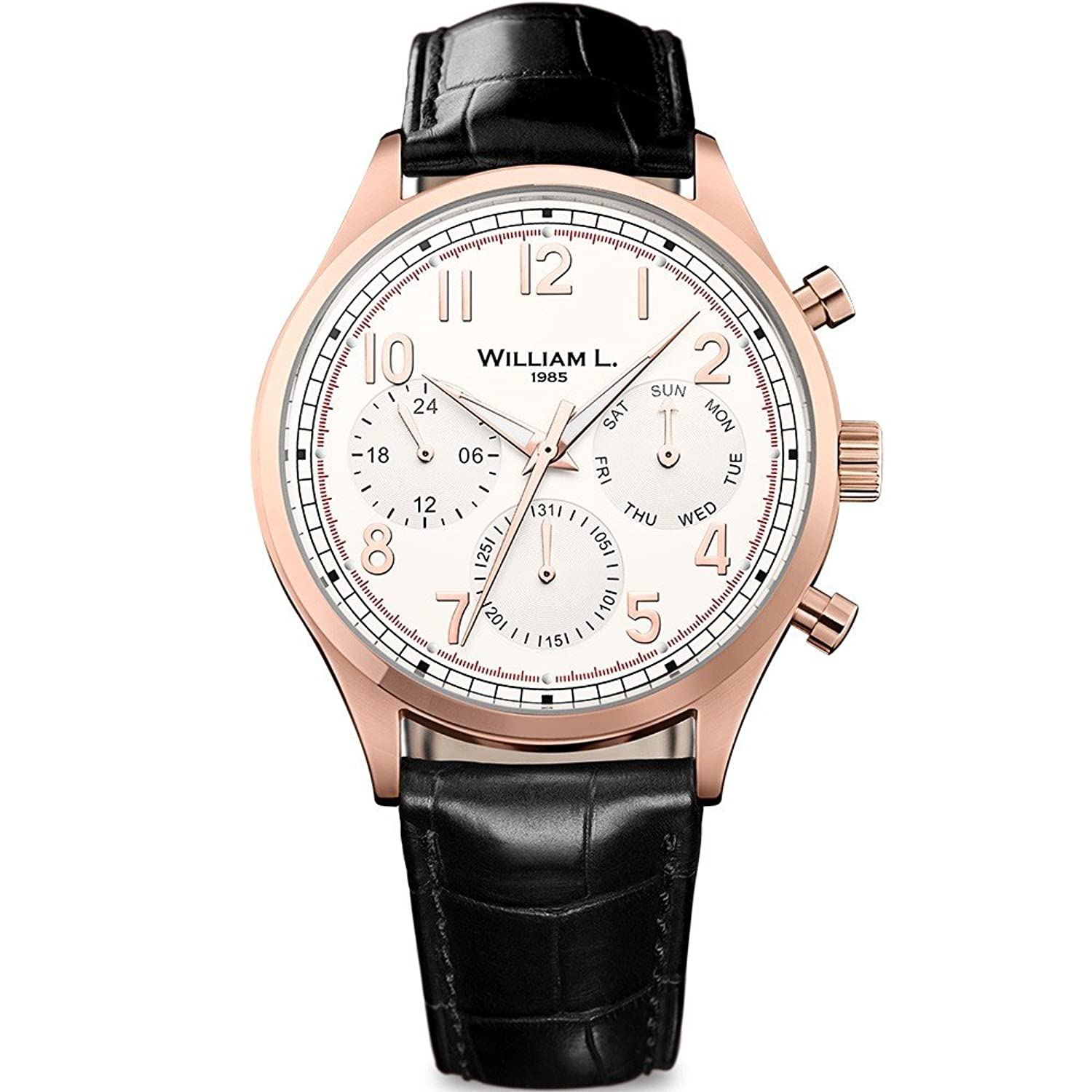 William L. Mens-Armbanduhr WLOR03BCORCM