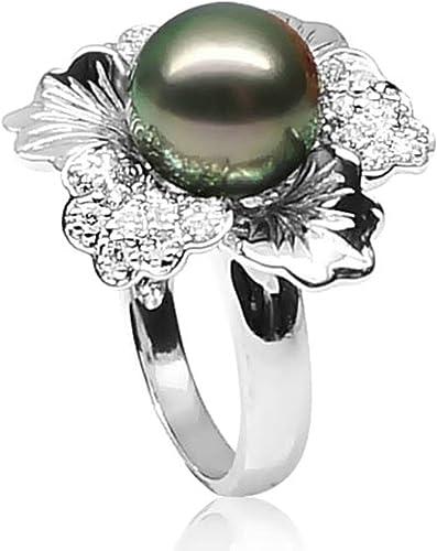 bague or blanc perle de tahiti pas cher