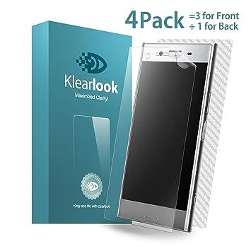 Protector de Pantalla Sony Xperia XZ Premium, Klearlook® [Versión completa de la cobertura