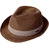 (シッギ) Siggi 折りたたみ サイズ調節可 99%uvカット 麦わら帽子 メンズ 春夏 ゴルフ 55-59cm