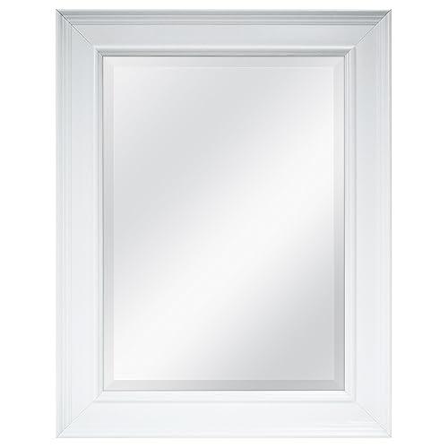 White Bath Mirror Amazon Com
