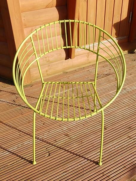 tavolino ferro battuto verde