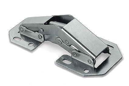 2 X Mprofi MT® Bisagra para Atornillar sobre el Frente Mueble 104 x ...