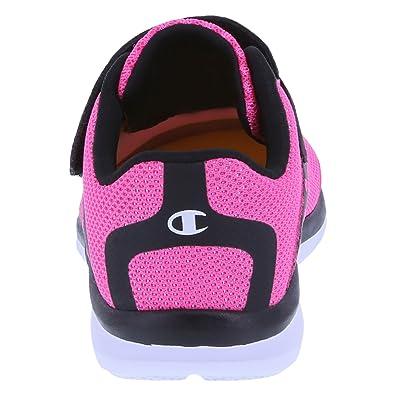 b493278f2ac Amazon.com  Champion Girls  Pink Black Heart Mesh Girls  Toddler Strap  Gusto Cross Trainer 7.5 Wide  Shoes