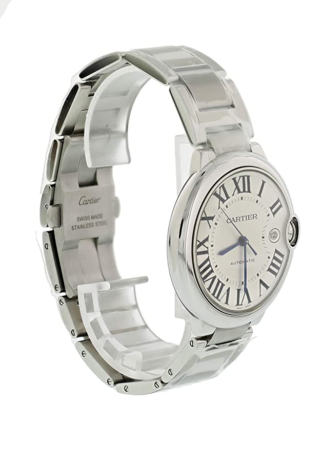 80fe3406bdf Amazon.com  Cartier Ballon Bleu Automatic-self-Wind Male Watch 3001  (Certified Pre-Owned)  Cartier  Watches