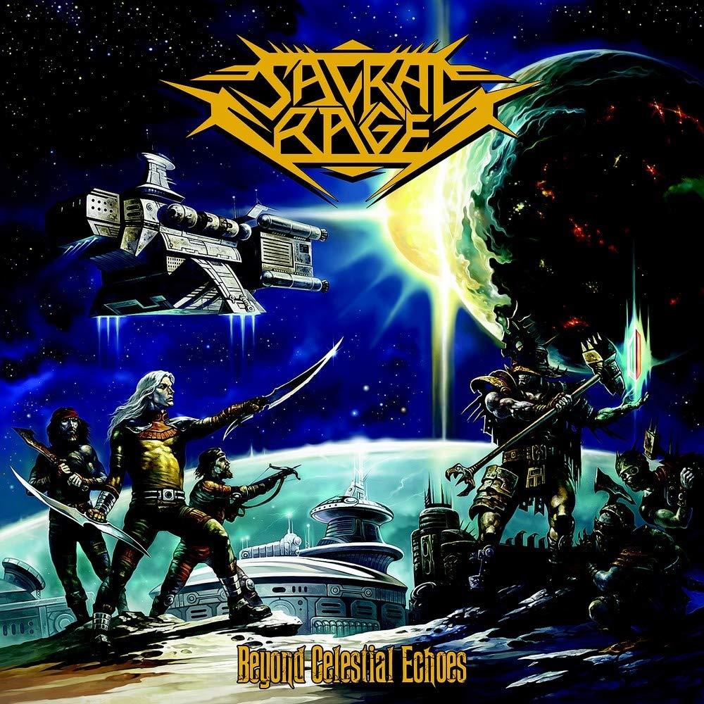 CD : Sacral Rage - Beyond Celestial Echoes (CD)