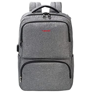 Anti Theft Travel Laptop Backpack 15.6 inch Women Water Repellent Business Lightweight USB Charging Port Oxford Nylon Luggage Strap