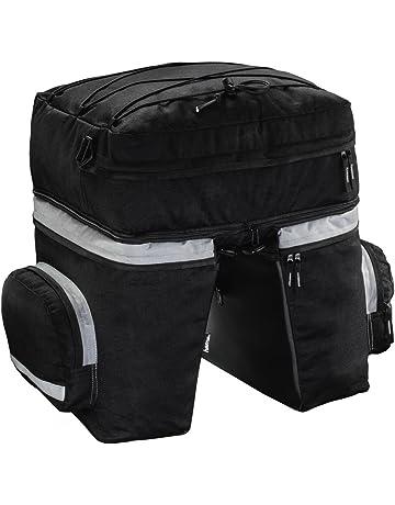 Hama 00178117 Bolsa para Bicicletas y Cesta - Bolsas para Bicicletas y cestas (Negro,