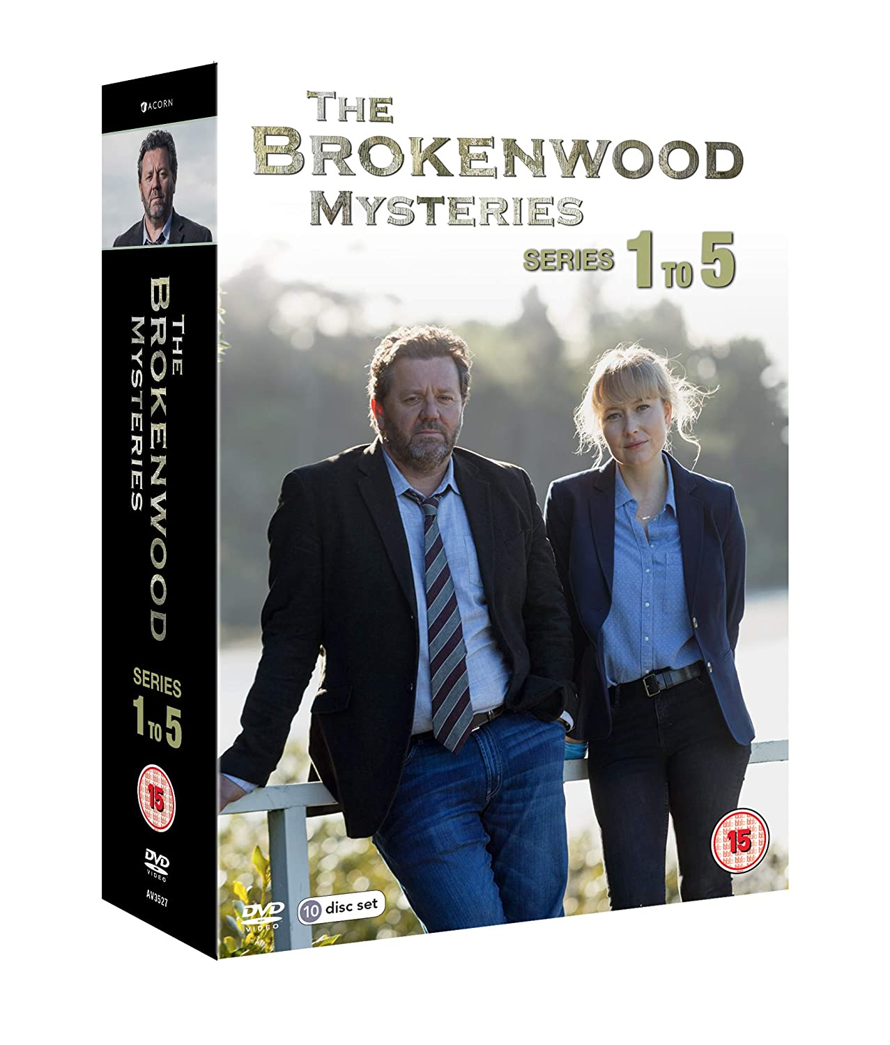 The Brokenwood Mysteries: Series 1-5 Box Set