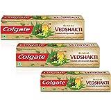 Colgate Swarna Vedshakti Toothpaste - 200 g (Pack of 2) with Colgate Swarna Ved Shakti Toothpaste - 100 g