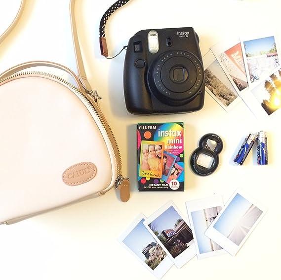 Amazon.com: [Fujifilm instax mini bolsa] CAIUL bolsa ...