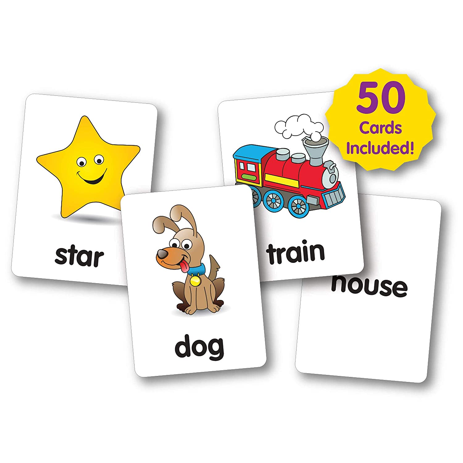 Amazon.com: The Learning Journey See & Say Flash Cards ...
