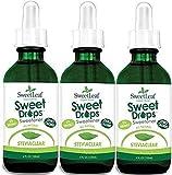 Sweetleaf Stevia Extract Clear Liquid 4 oz (3 Pack)