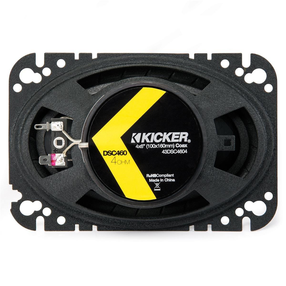 Kicker 43DSC4604 4x6 2-way Speaker Pair by Kicker (Image #1)