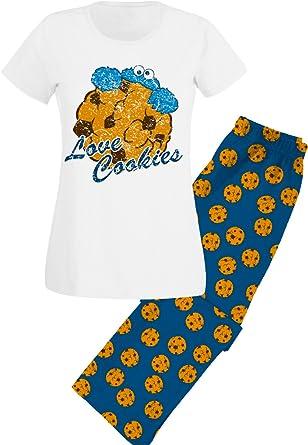 Sesamstraße Love Cookies - Pijama de El Monstruo de Las Galletas