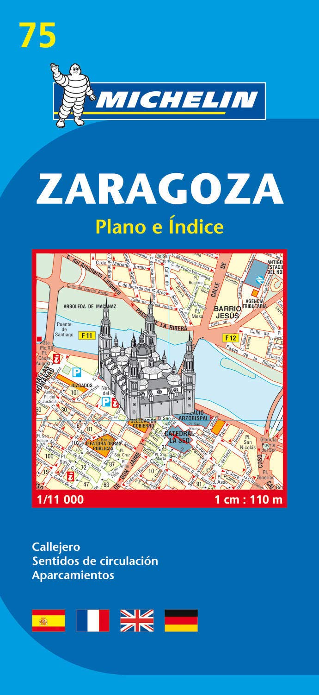 Plano Zaragoza (Planos Michelin): Amazon.es: Michelin: Libros