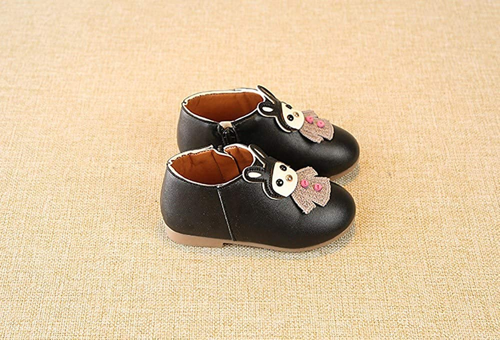 SMTSMT Children Kid Baby Girls Cartoon Leather Sport Short Boots Martin Casual Shoes