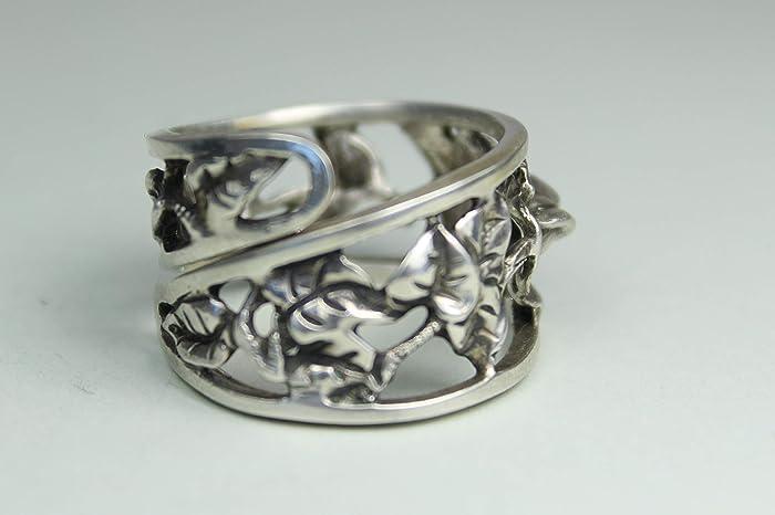 Rosen Ring 835 Silber Besteck Schmuck Ring Ca 63 20 Ring Aus