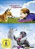 Der Fuchs und das Mädchen / Der Junge und der Wolf [2 DVDs]
