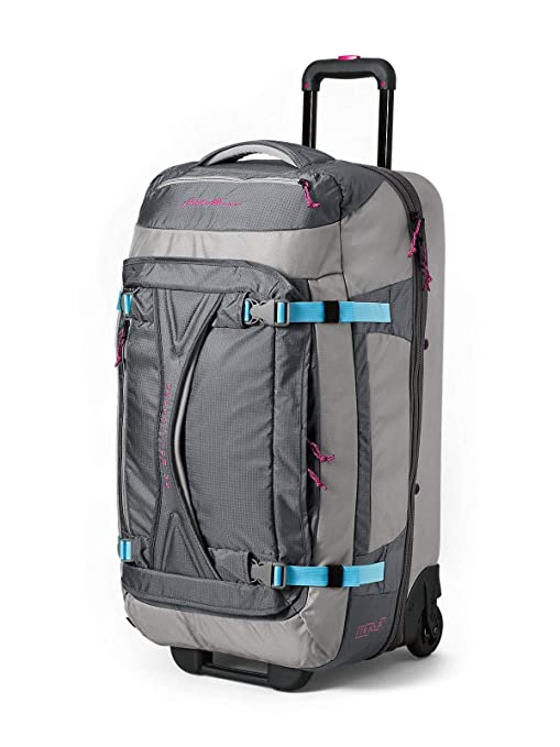 Amazon.com   Eddie Bauer Unisex-Adult Expedition Drop-Bottom Rolling Duffel  - Large, Gray Smo   Travel Duffels 7130b86d49