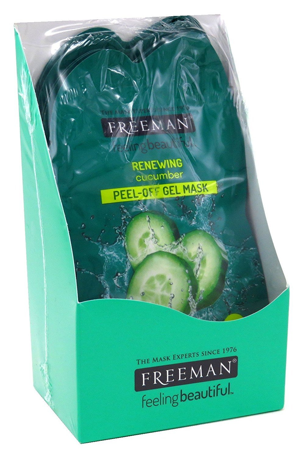 Freeman Facial Cucumber Peel-Off Mask Packette (6 Pieces)