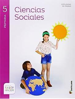 CIENCIAS SOCIALES MADRID + ATLAS 5 PRIMARIA SABER HACER - 9788468023892