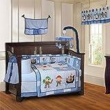 BabyFad Pirates 10 Piece Baby Crib Bedding Set