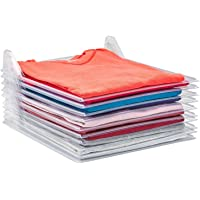 Tee Shirt Organizer Clothing Dividers - 10 Pack Stackable T Shirt, Document Organizer, Clothes Storage Travel Holders…