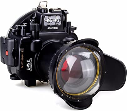 EACHSHOT 40 m/130ft impermeable carcasa submarina para cámara ...