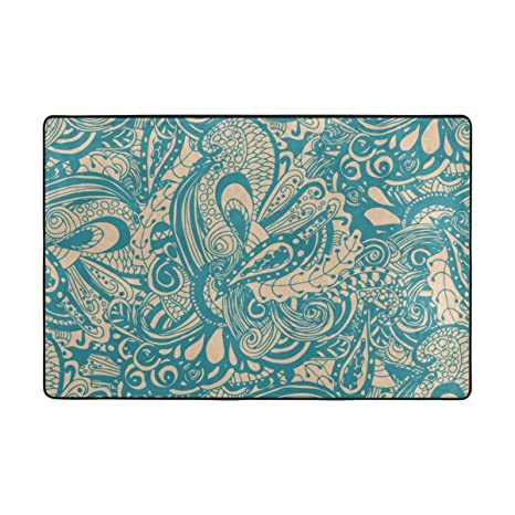 Amazon.com: Top Carpenter Abstract Doodle Area Rug Pad - 36 ...